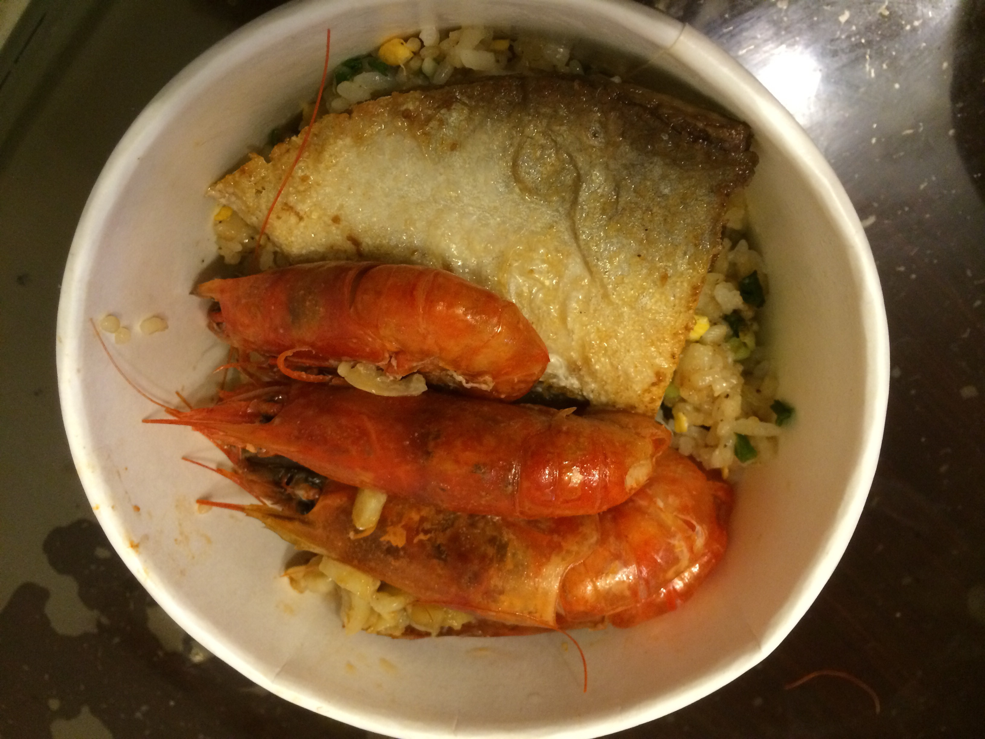 真男人料理-感人海鮮炒飯