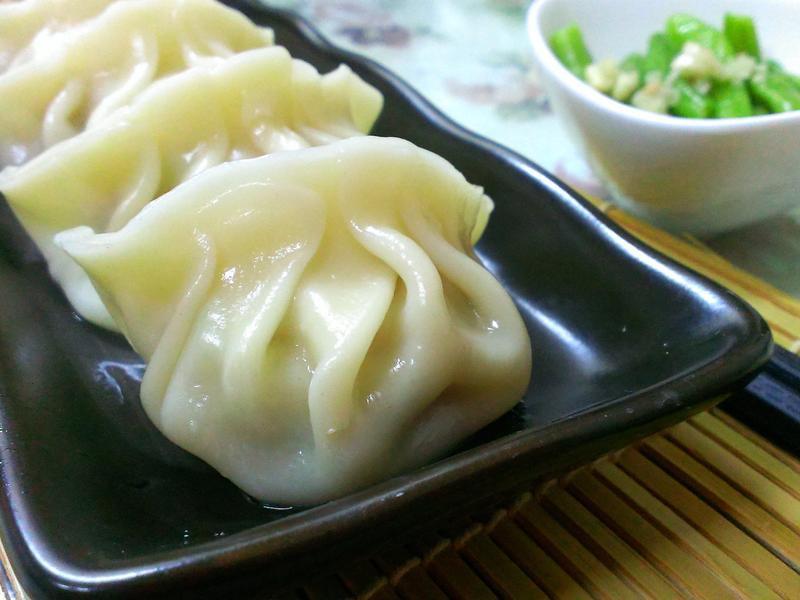 蒲ㄚ(瓠瓜)水餃