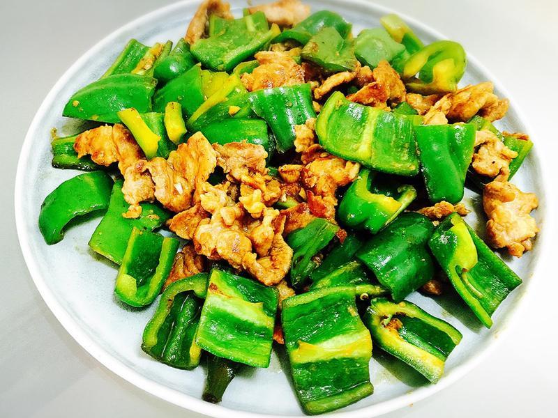 10分鐘便當菜:青椒炒嫩肉片