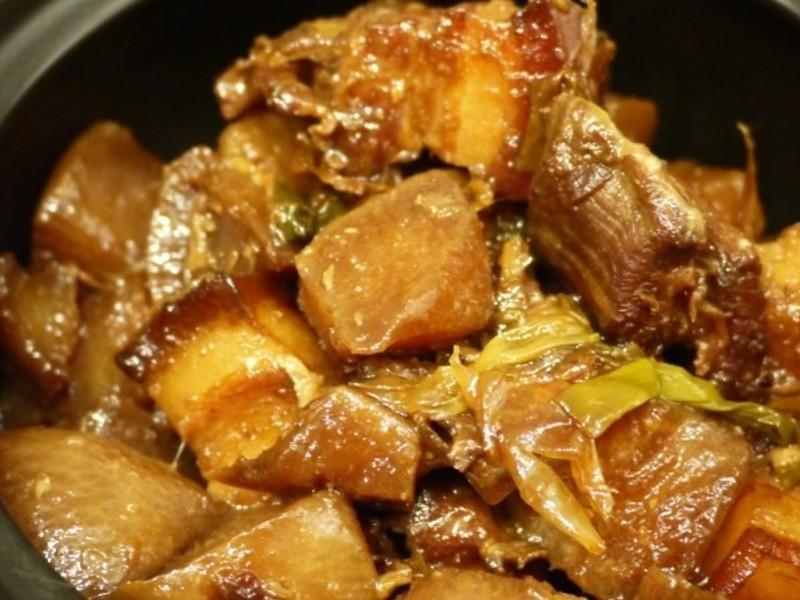 力力隨意煮-客家蘿蔔封(蘿蔔燒肉)