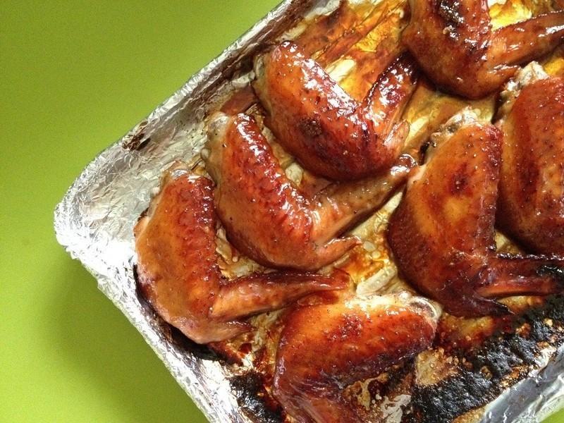 蜂蜜烤雞翅