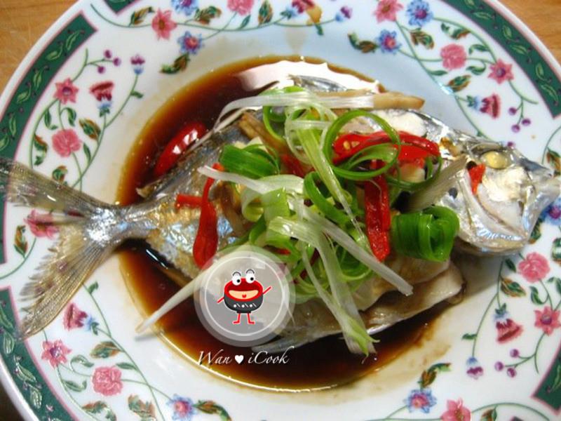 """♡宛の美好""""食""""光 ✿ 蠔油蒸青鱗魚(三角魚)"""
