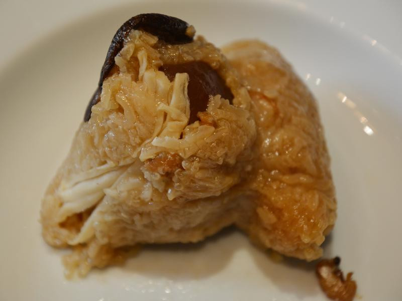 北部粽。筍絲香菇肉粽