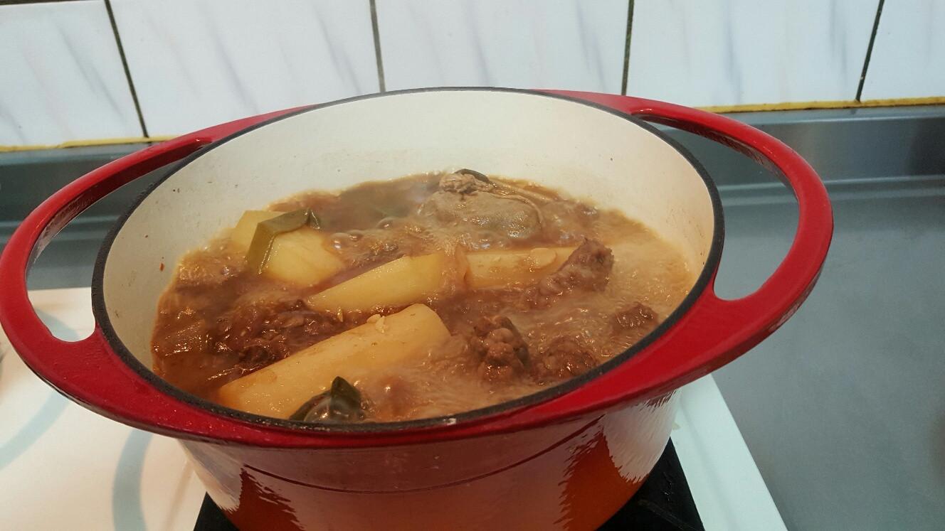 鑄鐵鍋 滷牛肉