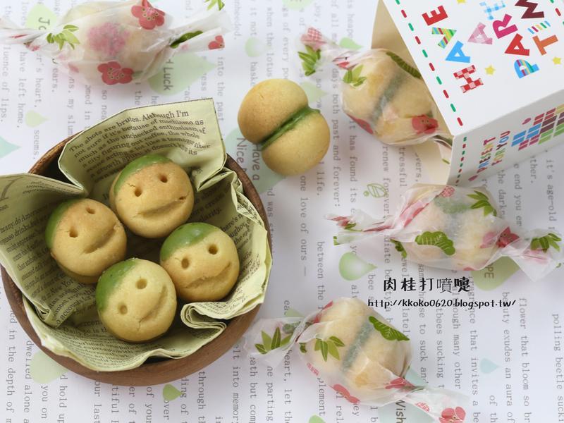 超簡單的微笑圓形小餅乾