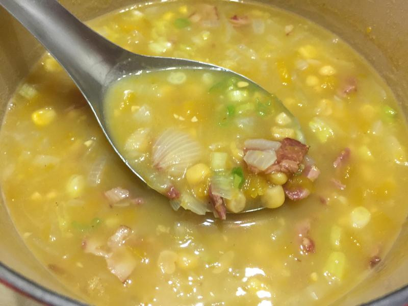培根南瓜玉米濃湯