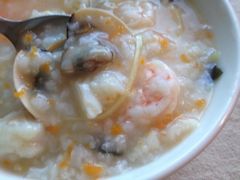 【妮小娜隨性煮】昆布海鮮粥