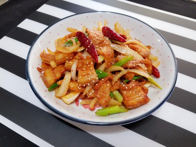 韓式辣炒五花肉