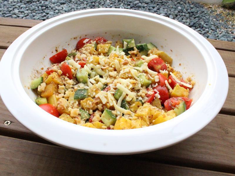 【小磨坊】烤地瓜堅果沙拉