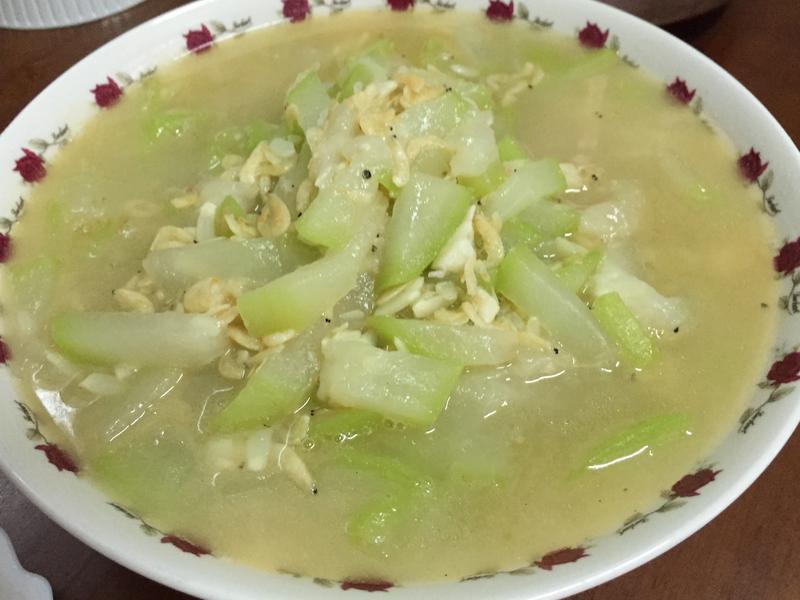 蝦皮炒瓠瓜