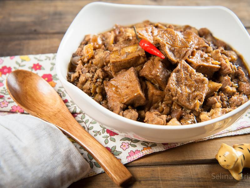 超級肉燥與油豆腐@Selina Wu