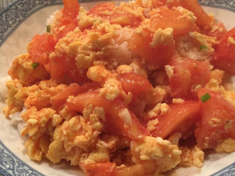 番茄炒蛋燴飯