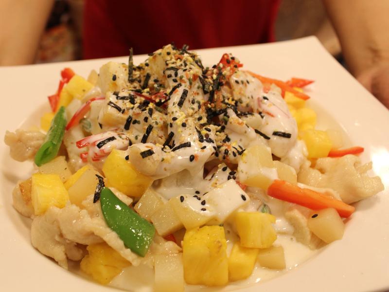 【小磨坊】馬鈴薯雞肉鳳梨沙拉