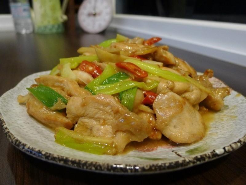 品靚上菜-腐乳葱爆雞