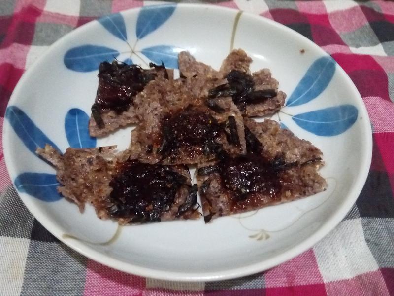 """電鍋料理""""五穀草莓貝果"""""""