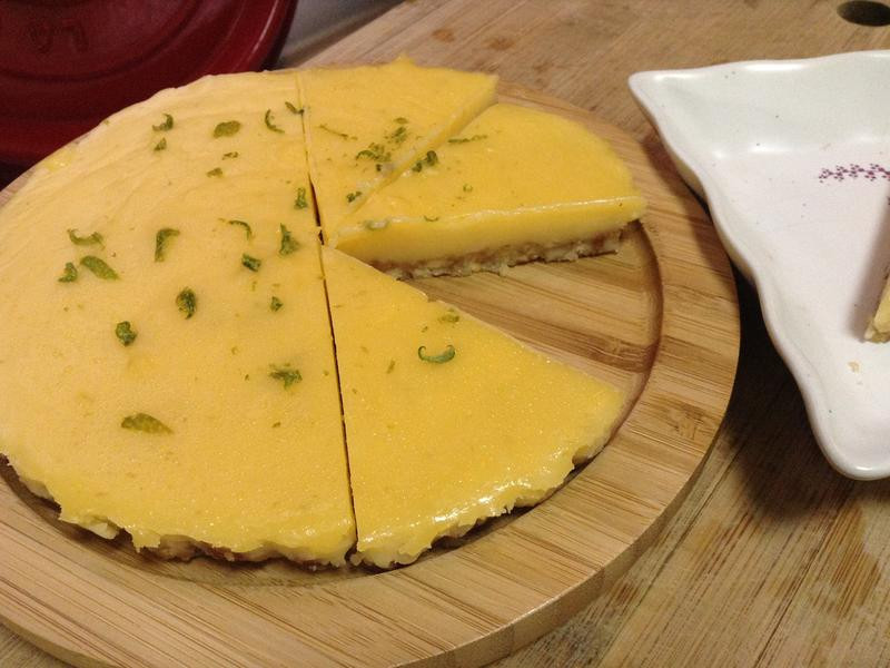 檸檬塔(免烤箱少油少糖)