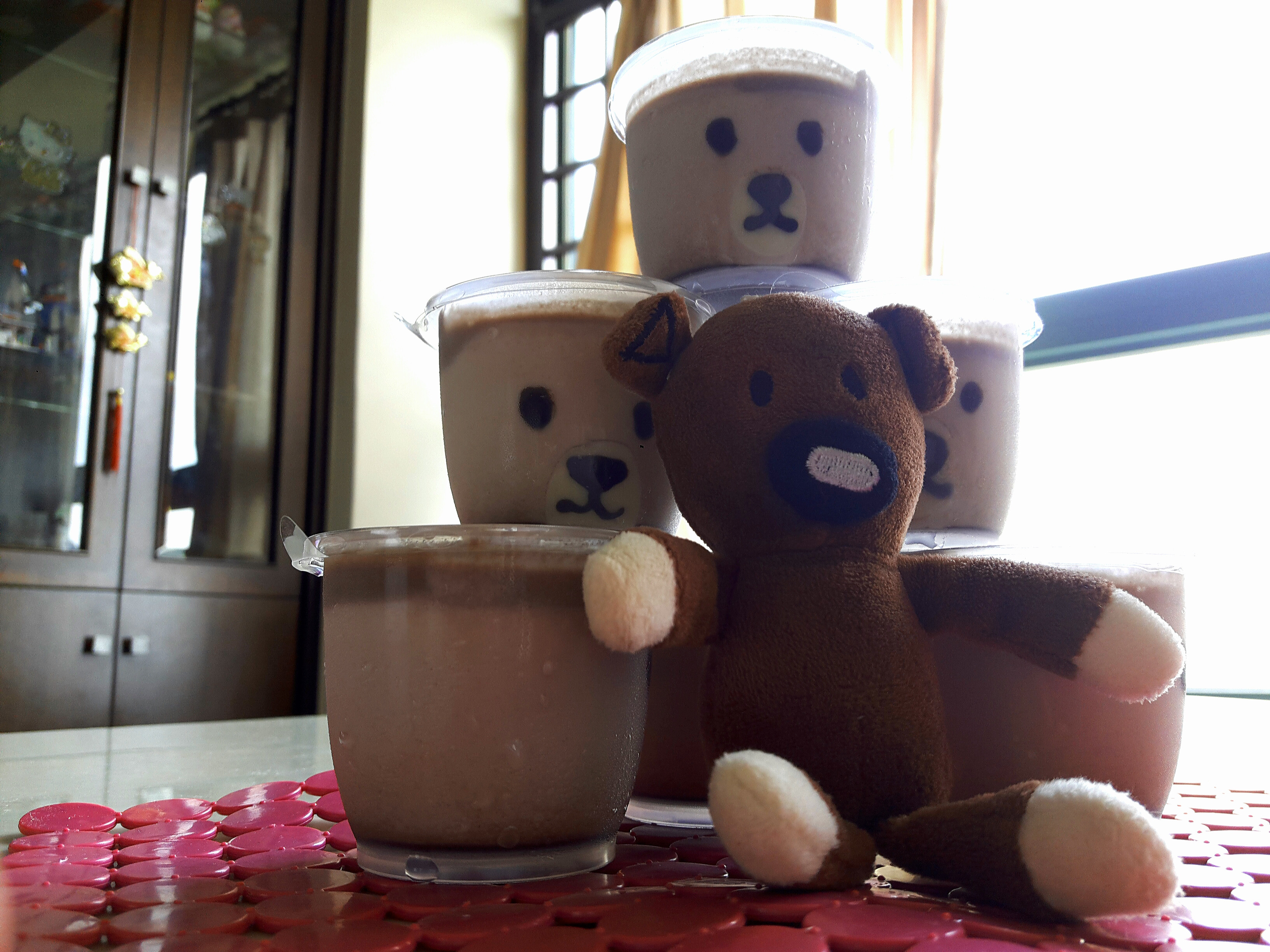 熊熊奶酪杯