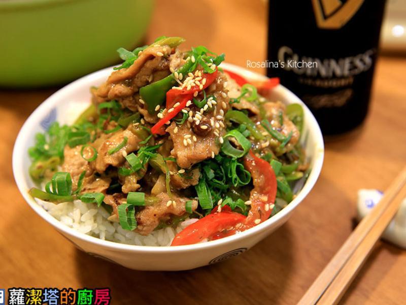 青椒炒肉絲,10分鐘簡單料理