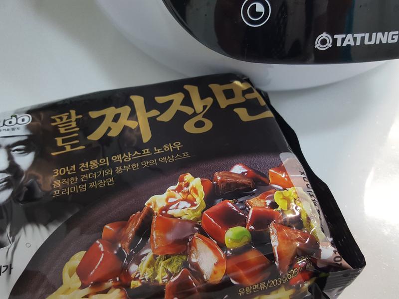 韓式炸醬泡麵【大同複合料理無水鍋】