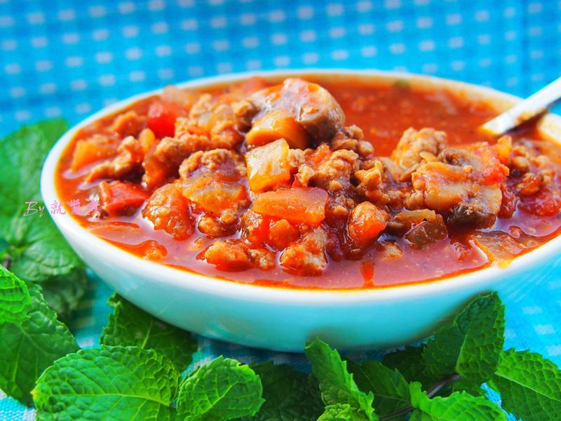 無水義式番茄肉醬(紅醬)