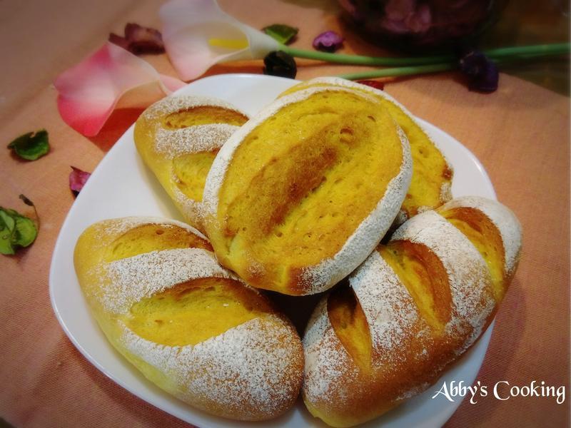 南瓜奶油法國麵包