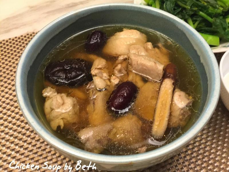 當歸紅棗雞湯 - 電鍋料理