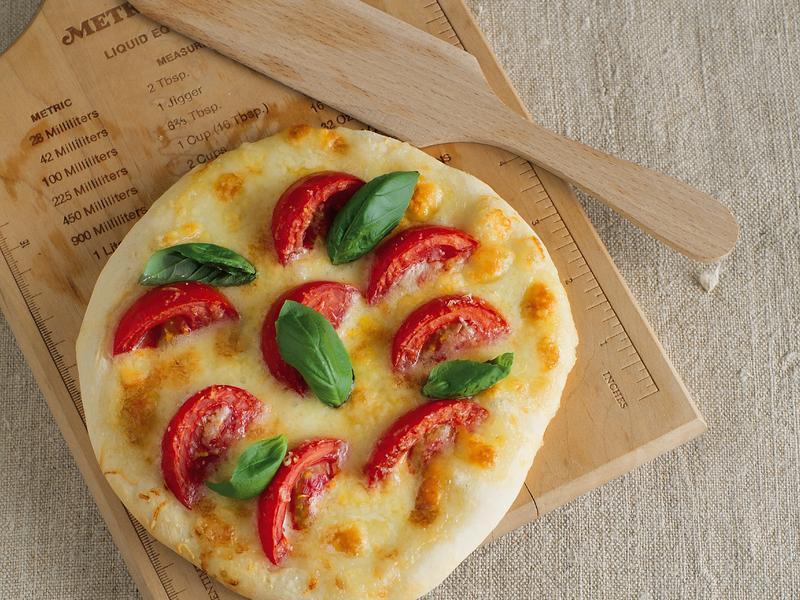 東販小食堂:瑪格麗特披薩