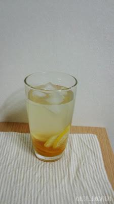 蜂蜜檸檬水허니레몬수
