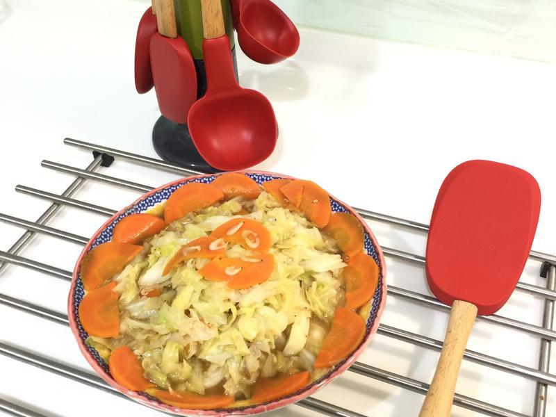 小蝦米炒高麗菜
