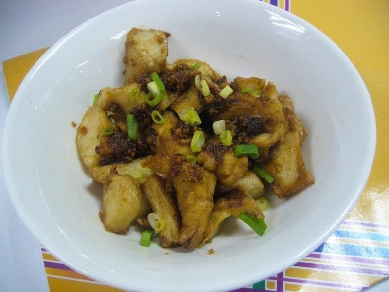 魚卵辣椒杏鮑菇