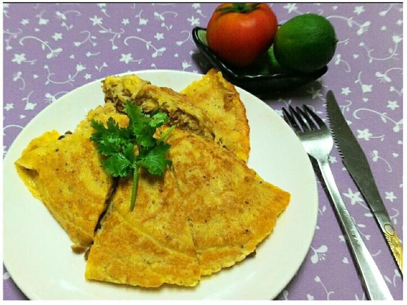 華翠菇起士厚燒~鹹味麥煎餅