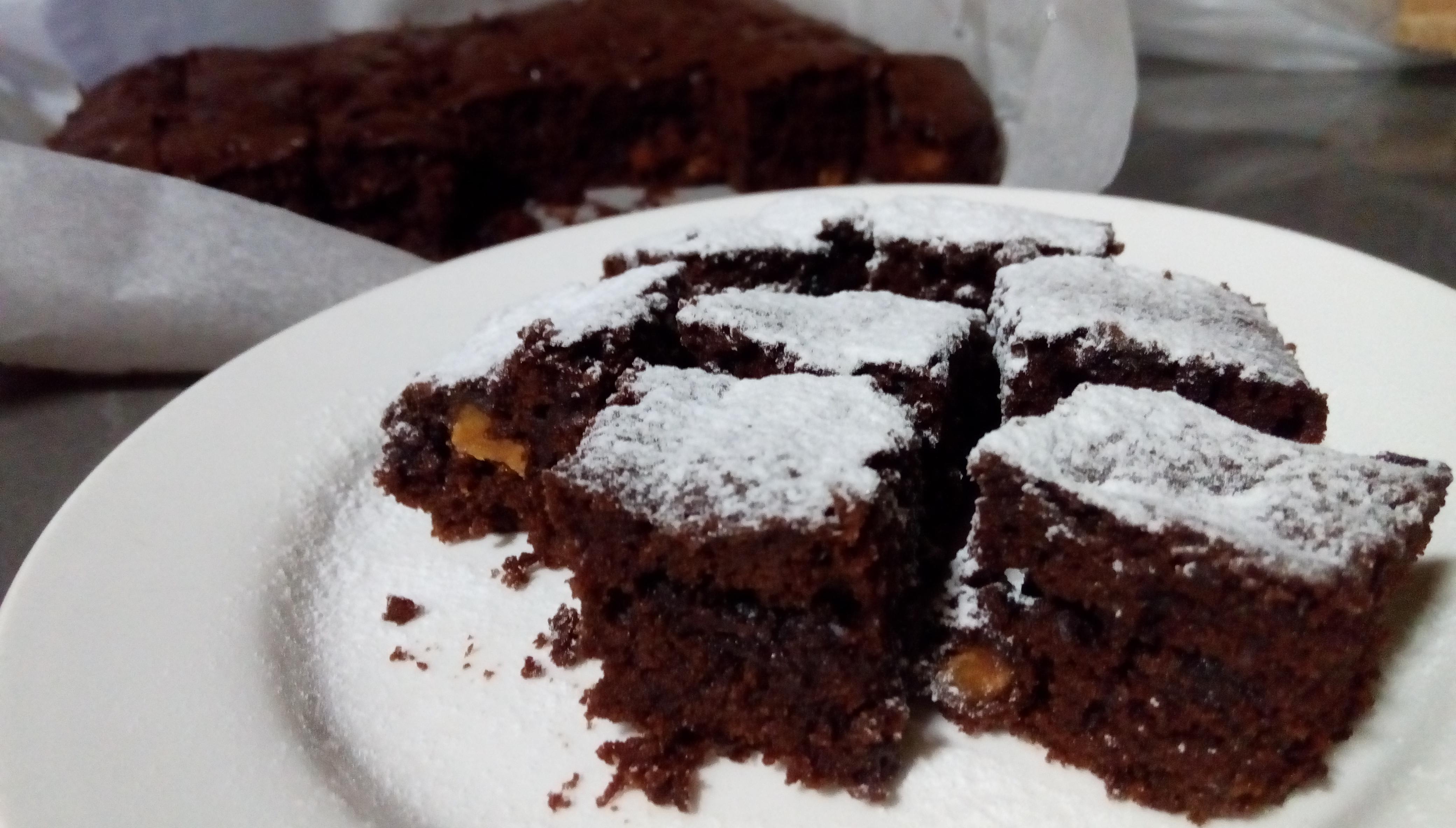 核桃巧克力布朗尼 Brownie