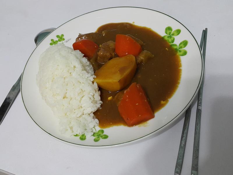 日式豬肉咖哩