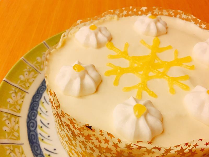 檸香甜橙慕斯蛋糕