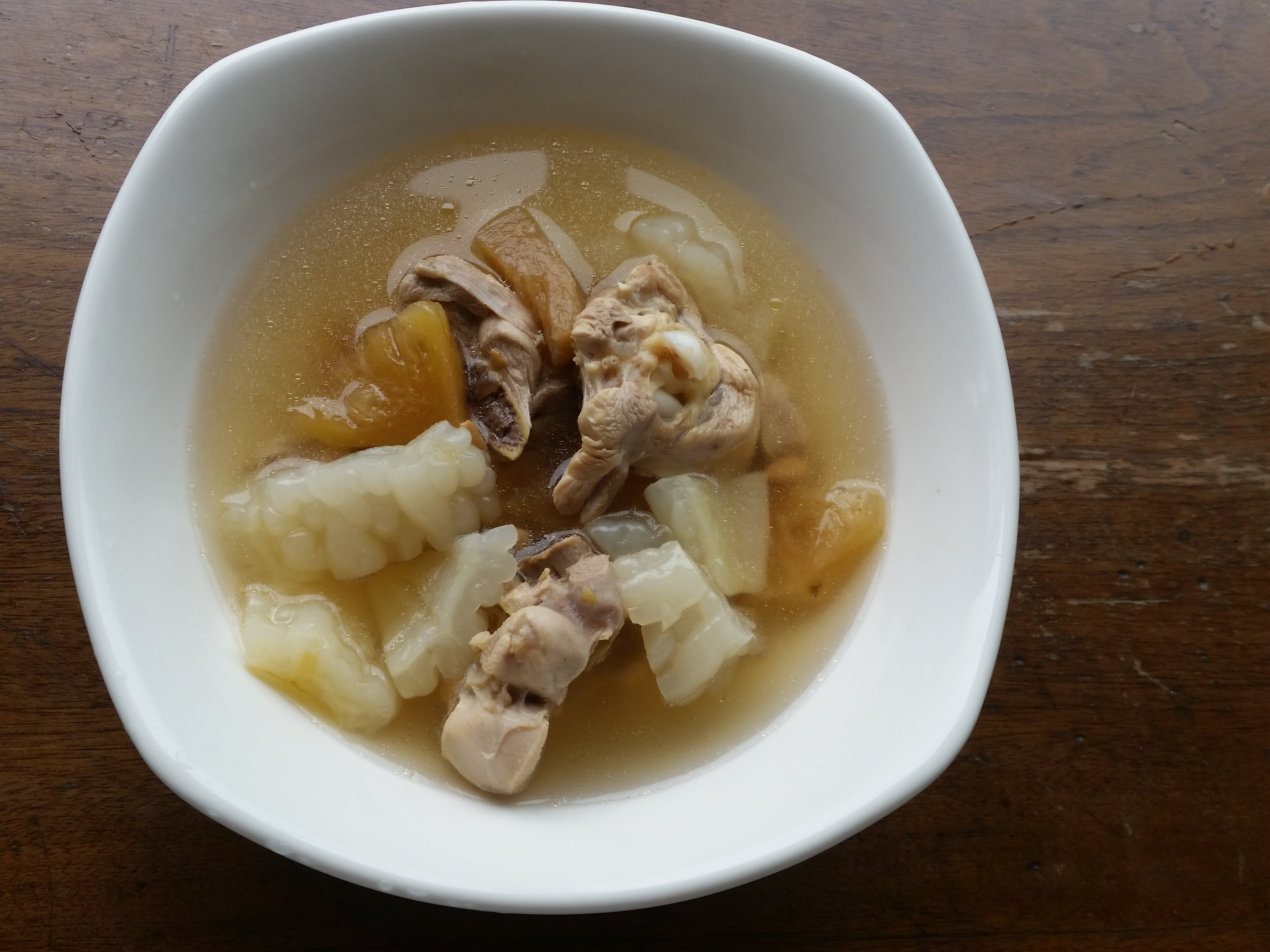 ▍低GI ▍鳳梨苦瓜雞湯