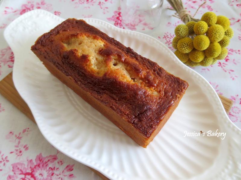 草莓磅蛋糕