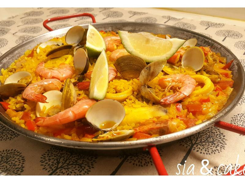 西班牙海鮮飯~懶人配方