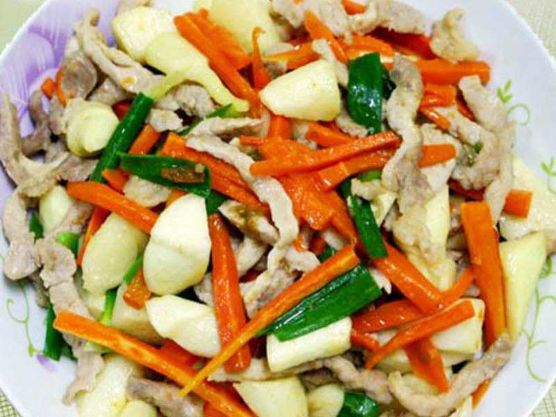 【厚生廚房】筊白筍炒肉絲
