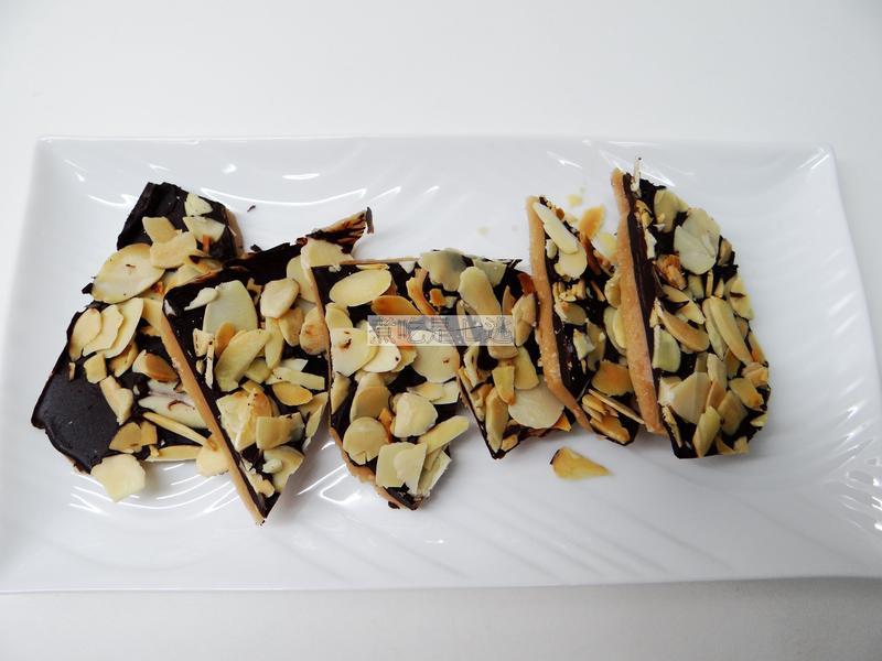 英式『巧克力杏仁片太妃糖』