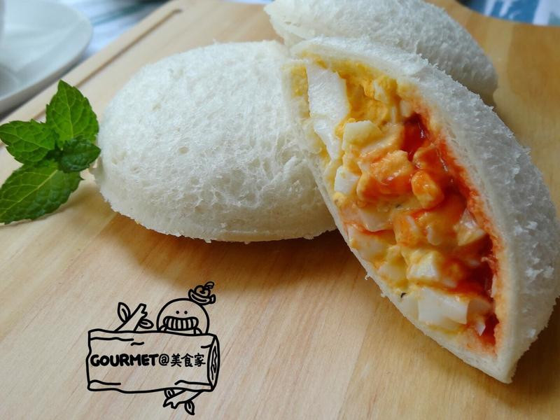 蛋沙拉吐司(超簡易的美味)