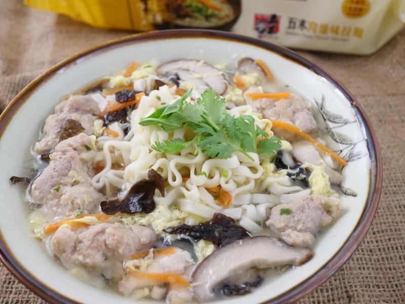 香菇肉羹拉麵-五木拉麵