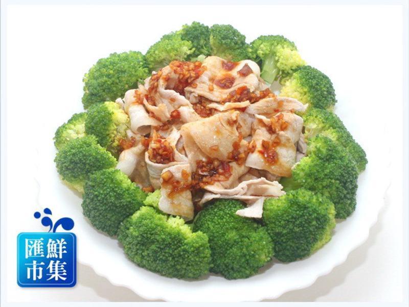 涼拌豬五花肉片