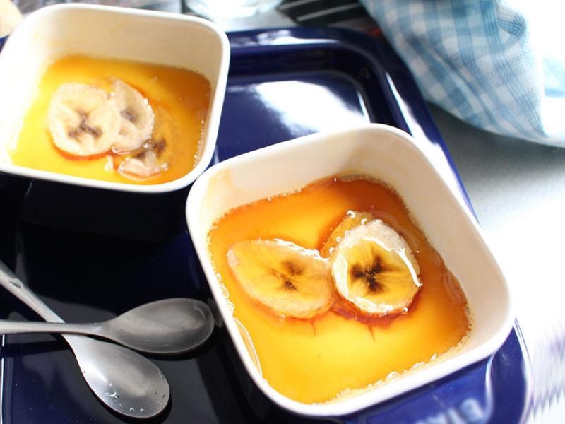 「蕉」香優格烤布丁