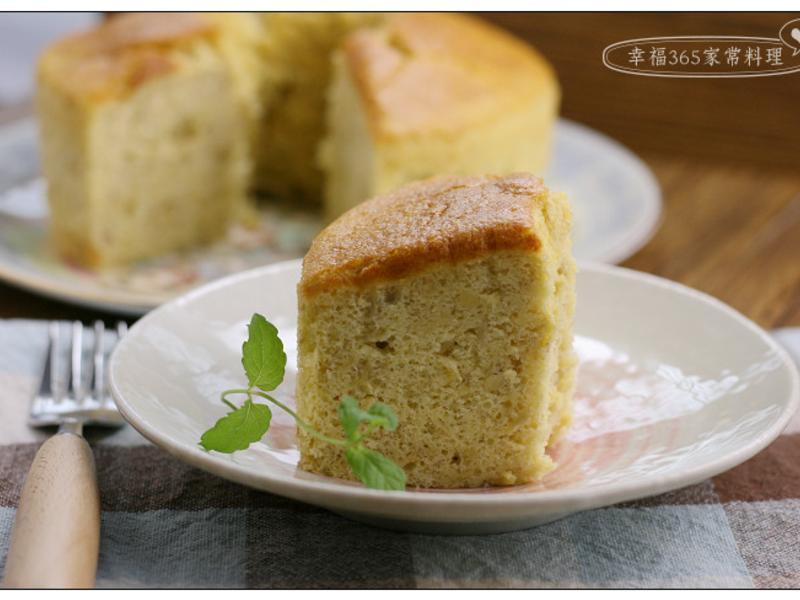 香蕉戚風蛋糕