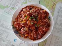 韓式辣炸雞