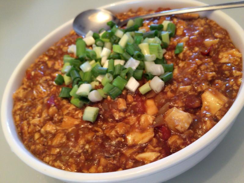 咖喱煨豆腐