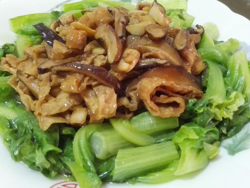 香菇豆皮醬拌大陸妹