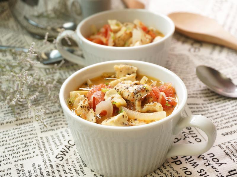 義式番茄雞肉湯[Lagostina湯鍋]