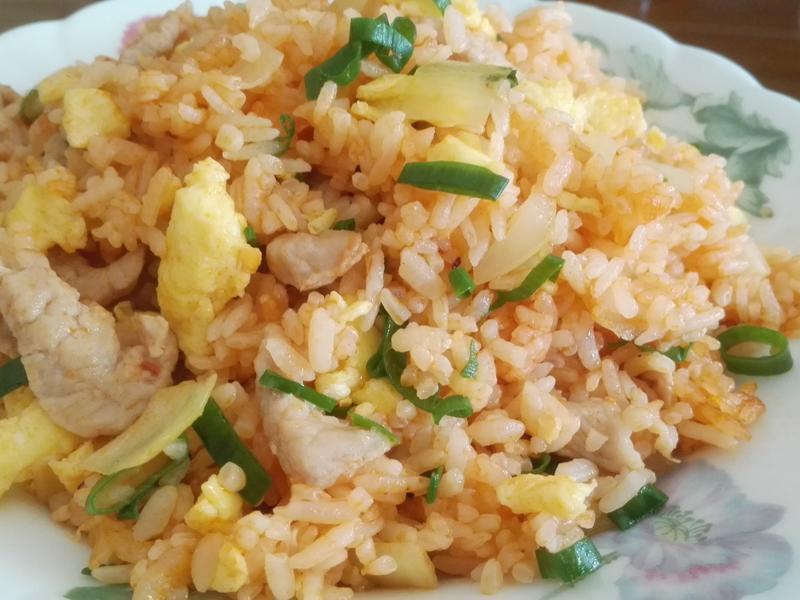 茄汁肉絲蛋炒飯