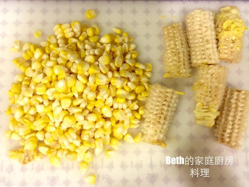 簡單快速剝玉米粒